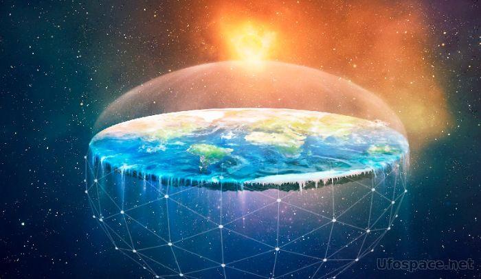 На Южном Полюсе найден фрагмент купола Плоской Земли?