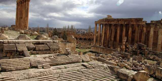 Баальбек - кто создал мегалиты храма Юпитера?