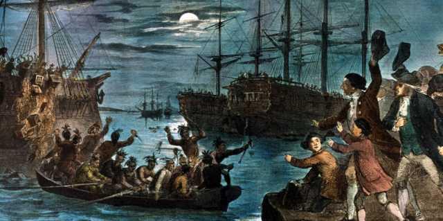 Почему колонисты Америки объявили войну Англии?