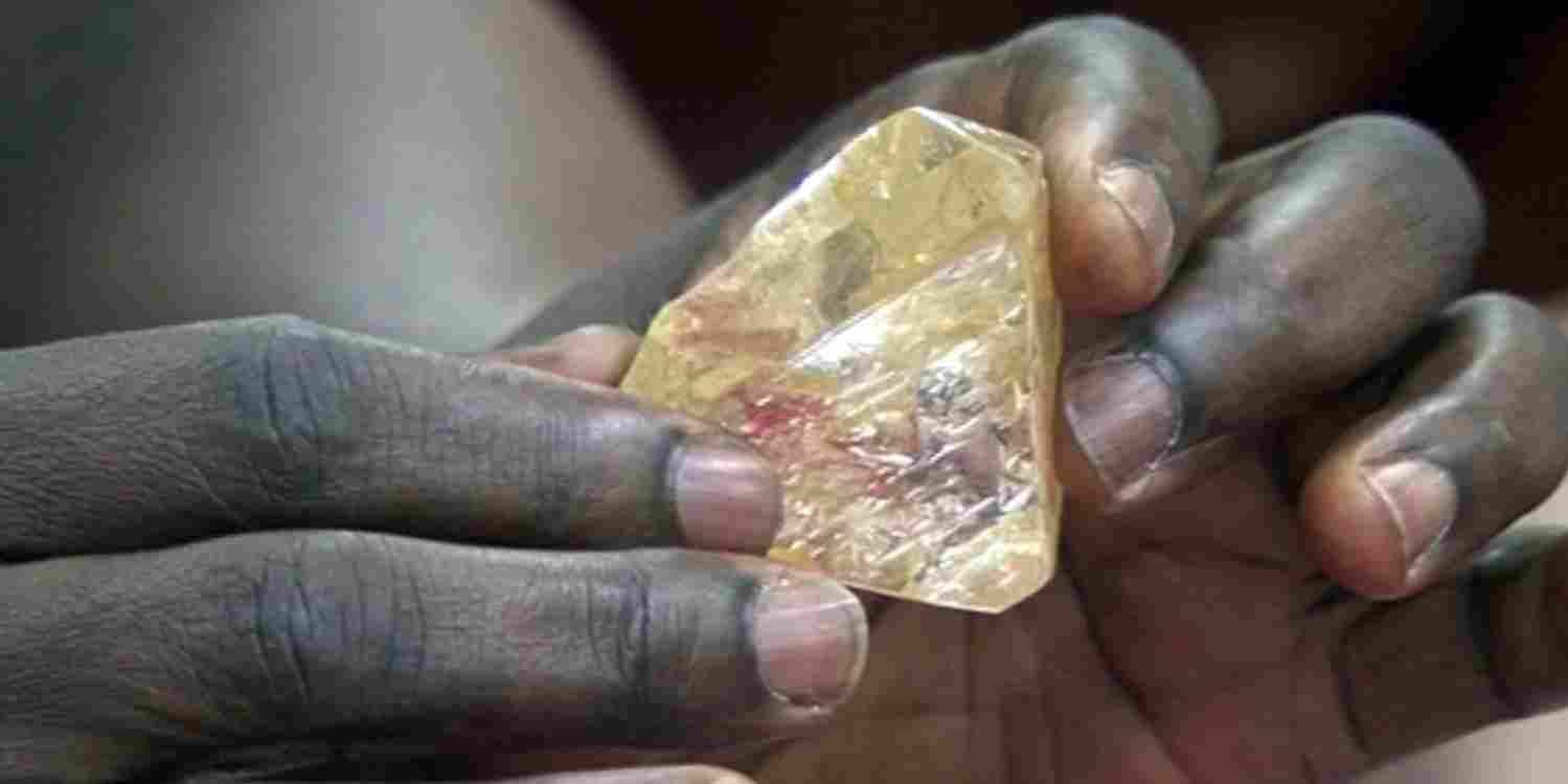 Самый крупный и чистый алмаз Африки