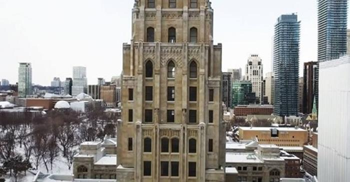 Башня привидений в Торонто