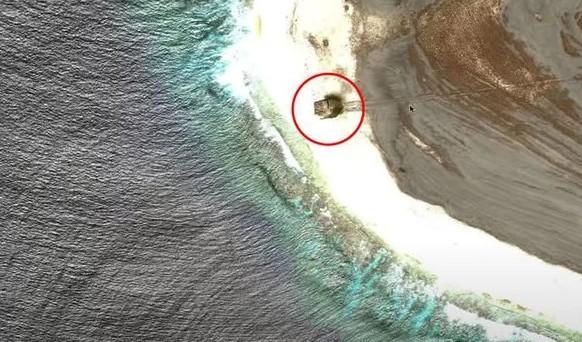 На Необитаемом Острове Найден Объект, Напоминающий Нло