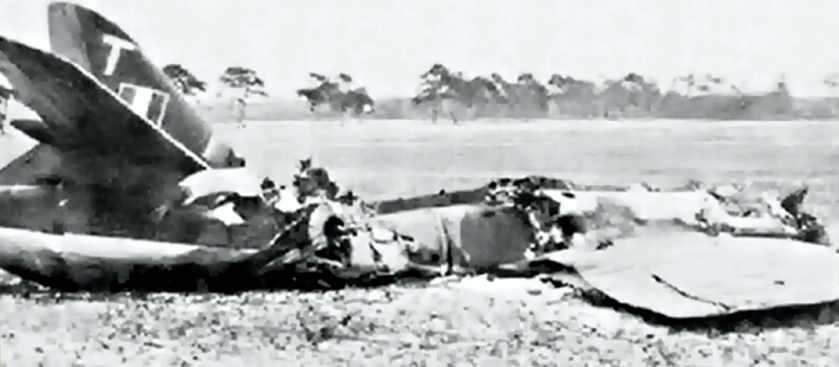 Крушение шести самолётов в окрестностях Суффхема