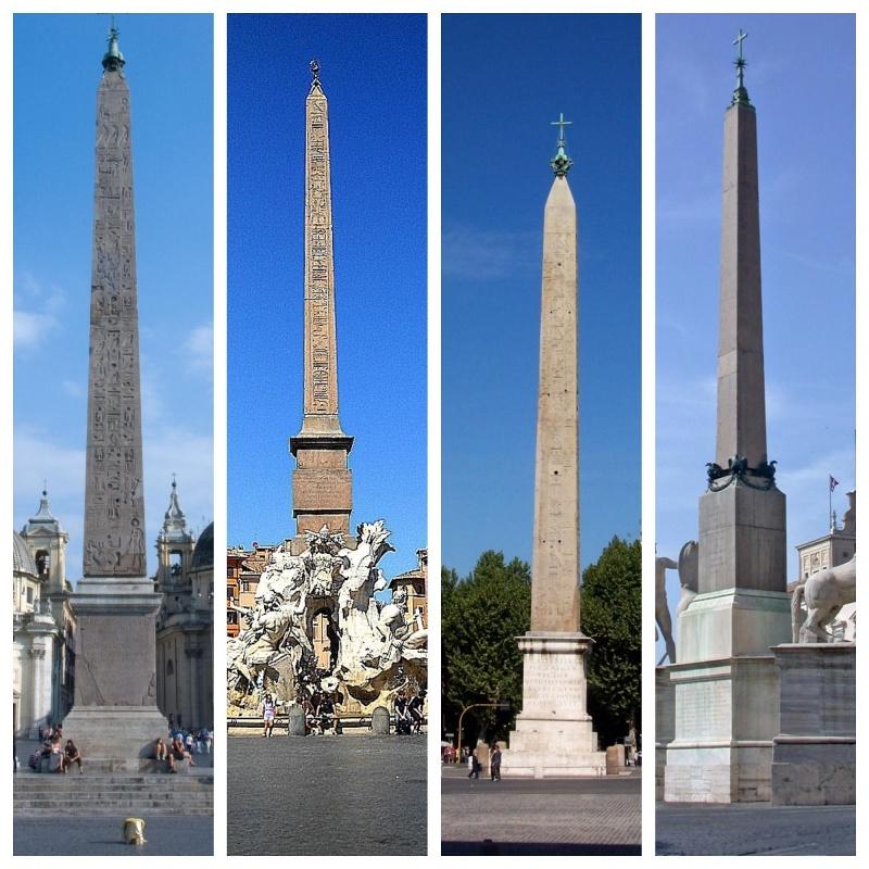Откуда в Риме египетские обелиски? (Римский лабиринт)
