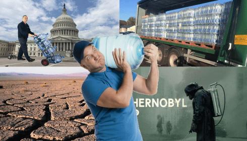 FEMA срочно завозит в Вашингтон воду. К чему бы?