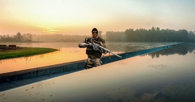Все силы NATO брошены на поиски Рэмбо из Бельгии, но пока совершено безрезультатно