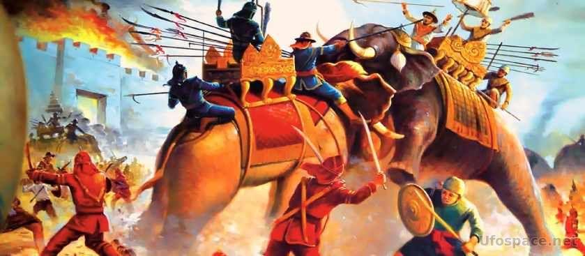 Боевые слоны: Танки древности