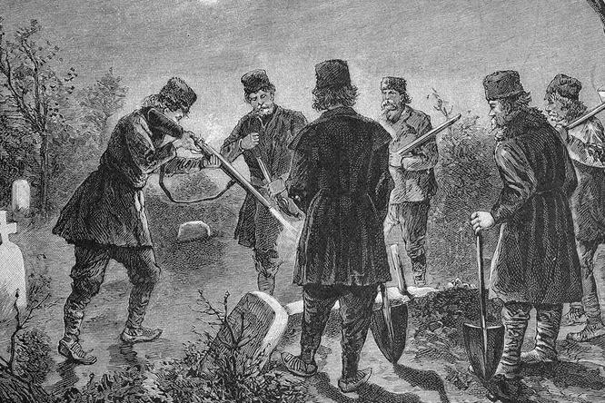 Вампирская паника в Новой Англии XIX века: суеверия на фоне вспышки туберкулеза