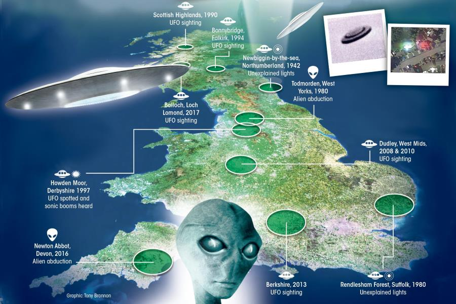 Британия возобновляет работы по исследованию НЛО