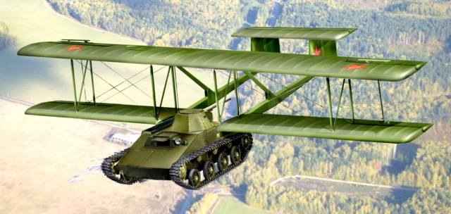 Летающие танки — зачем они были нужны?