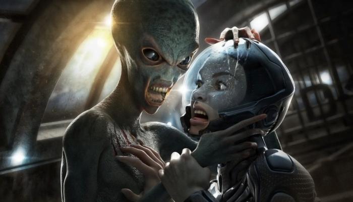 Секретная база, управляемая инопланетянами