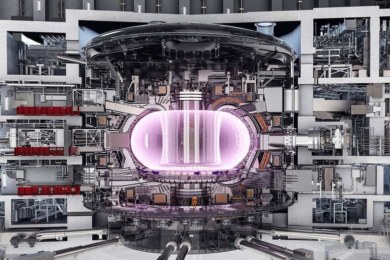 Во Франции начали монтировать супер-магнит, способный сместить полюса Земли