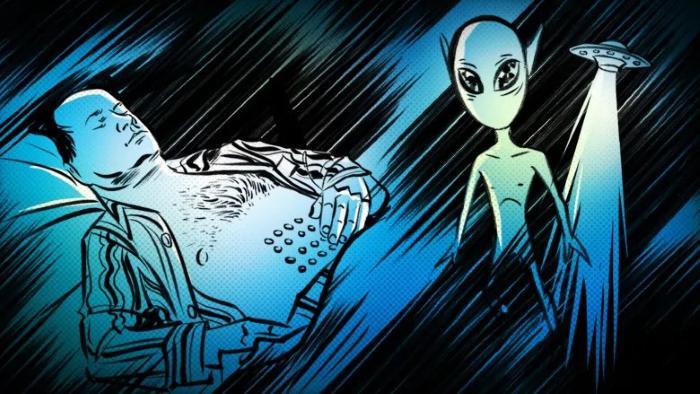 Житель Канады рассказал о встрече с пришельцами
