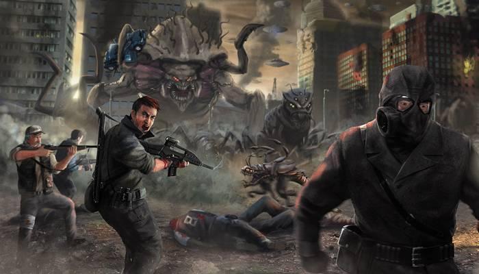 Инопланетяне сокрушат людей в ужасающей войне