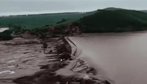 В Китае за 2 дня обрушилось 4 плотины