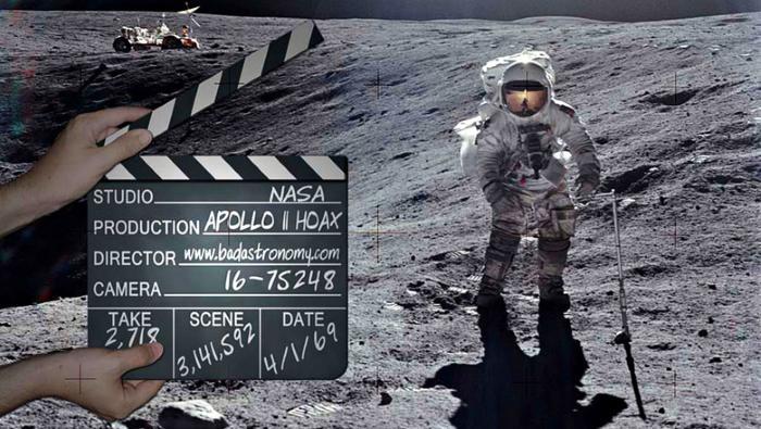 В конспирологических теориях о высадке на Луну США виновата сама