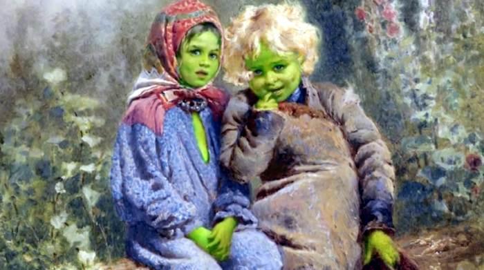 Тайна зеленых детей Вулпита