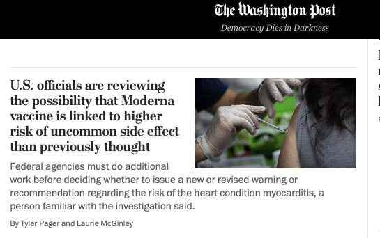 Странная смена курса глобальных СМИ в отношении вакцинации