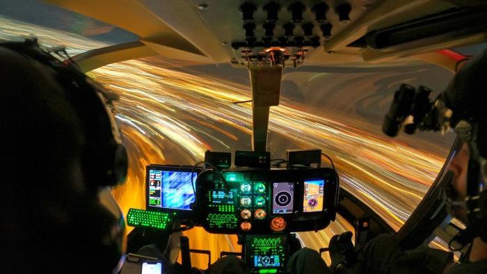 Погоня вертолетов за НЛО над Тусоном