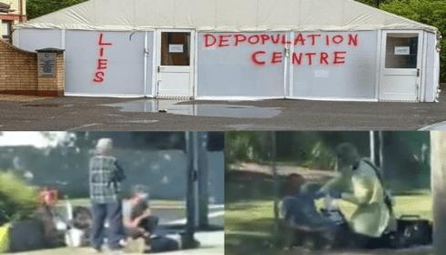 Люди вокруг завивочных центров Австралии уже падают, как в Ухане
