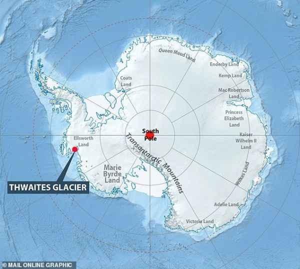 С ледника Судного Дня пришло обновление про сдвиг полюсов