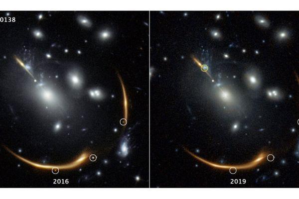 Астрономы предсказали появление в 2037 году ранее наблюдавшейся сверхновой