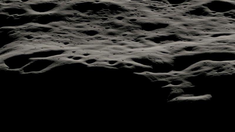 Посмотрите на Южный полюс Луны. Там могут найти воду