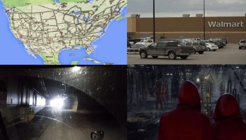 Куда ведет сеть тоннелей под супермаркертами?