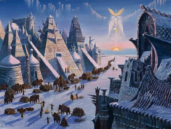 На Кольском полуострове найдены пирамиды