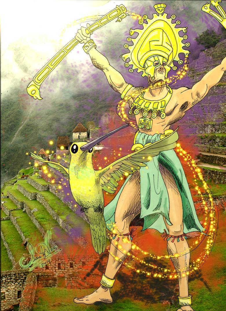 Виракоча - белый бог индейцев