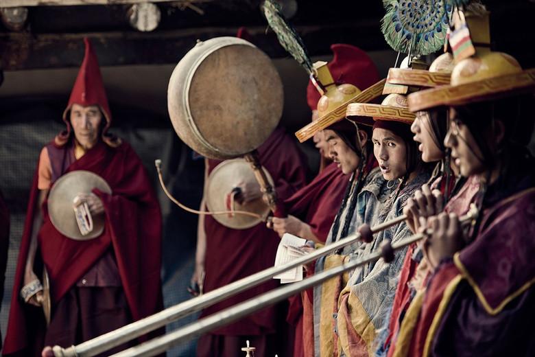 Тибетские жрецы