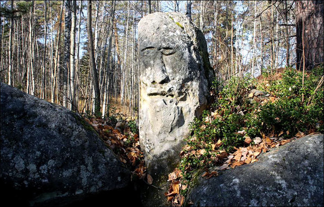 Загадка Усть-Тасеевского каменного идола с переделанным лицом