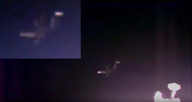 В поле зрения веб-камеры на МКС появился огромный НЛО