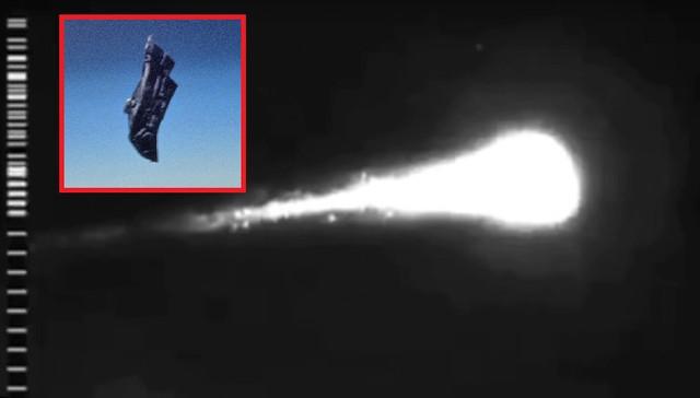 В Сеть попали кадры уничтожения древнего спутника пришельцев