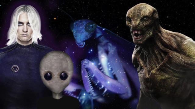 Основные расы пришельцев на Земли